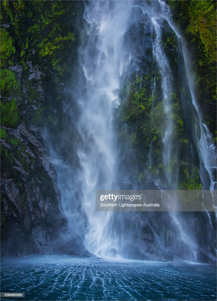 The Thundering Stirling Waterfall Fjordland National Park South