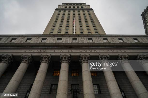 The Thurgood Marshall United States Courthouse which hears cases from the United States District Court for the Southern District of New York and...