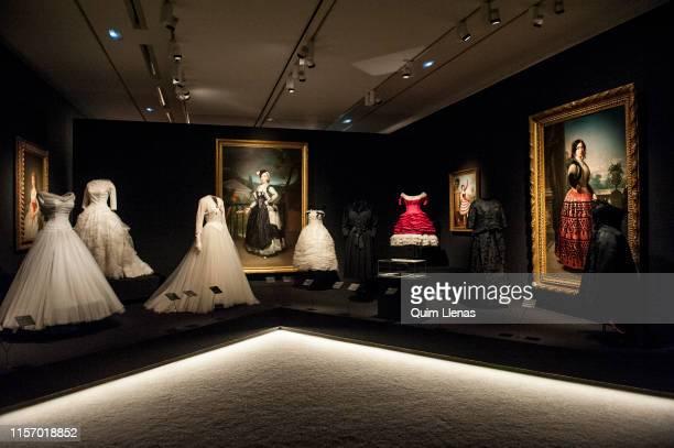 MADRID SPAIN – JUNE 17 The ThyssenBorrnemisza Museum host the exhibition 'Balenciaga y la pintura espanola' to showcase the links between the...