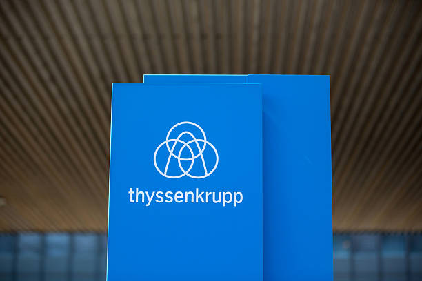 operations at thyssenkrupp ag 39 s steel plant as chinese. Black Bedroom Furniture Sets. Home Design Ideas