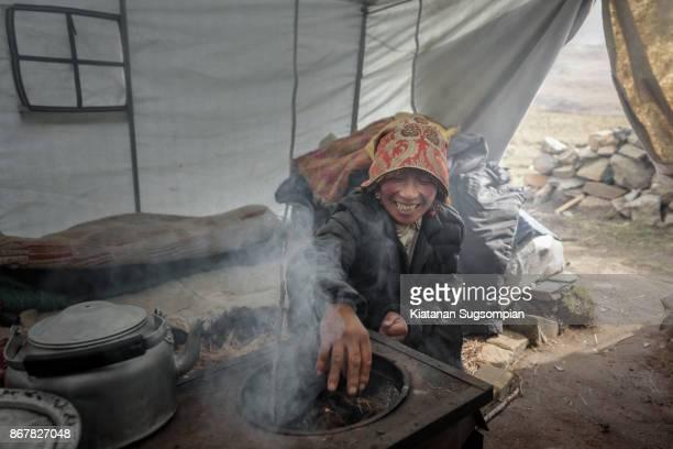 The Tibatan camping