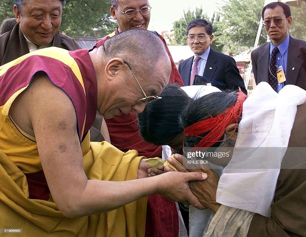 The Tibetan Buddhist spiritual and temporal leader, the