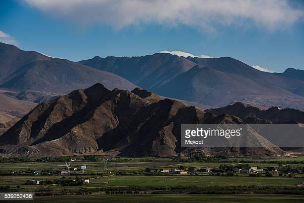 The Tibetan Plateau, Gyantse, Tibet, China