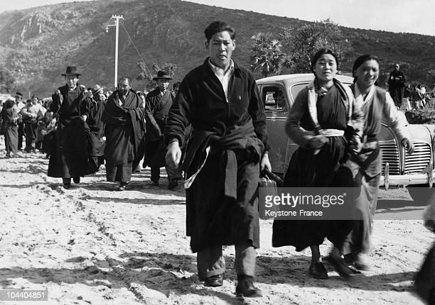 The Tibetan refugees arriving on the Nepalese border after their difficult journey over the Himalayas Refugees from Tibet are pouring into the...