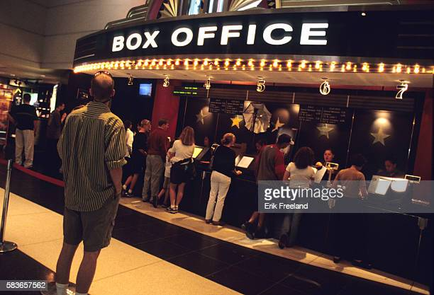 The ticket counter at the AMC Theater on Broadway and 66th Street in Manhattan