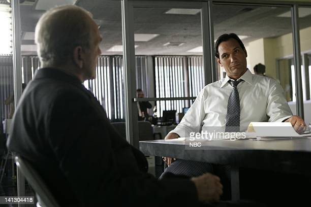 WING The Ticket Episode 1 Aired Pictured John Spencer as Leo McGarry Jimmy Smits as Congressman Matthew Santos Photo by Mitchell Haddad/NBCU Photo...