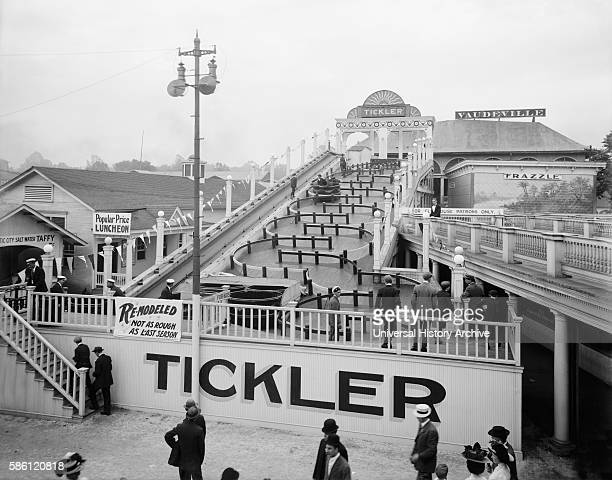 The Tickler Chester Park Cincinnati Ohio USA circa 1910