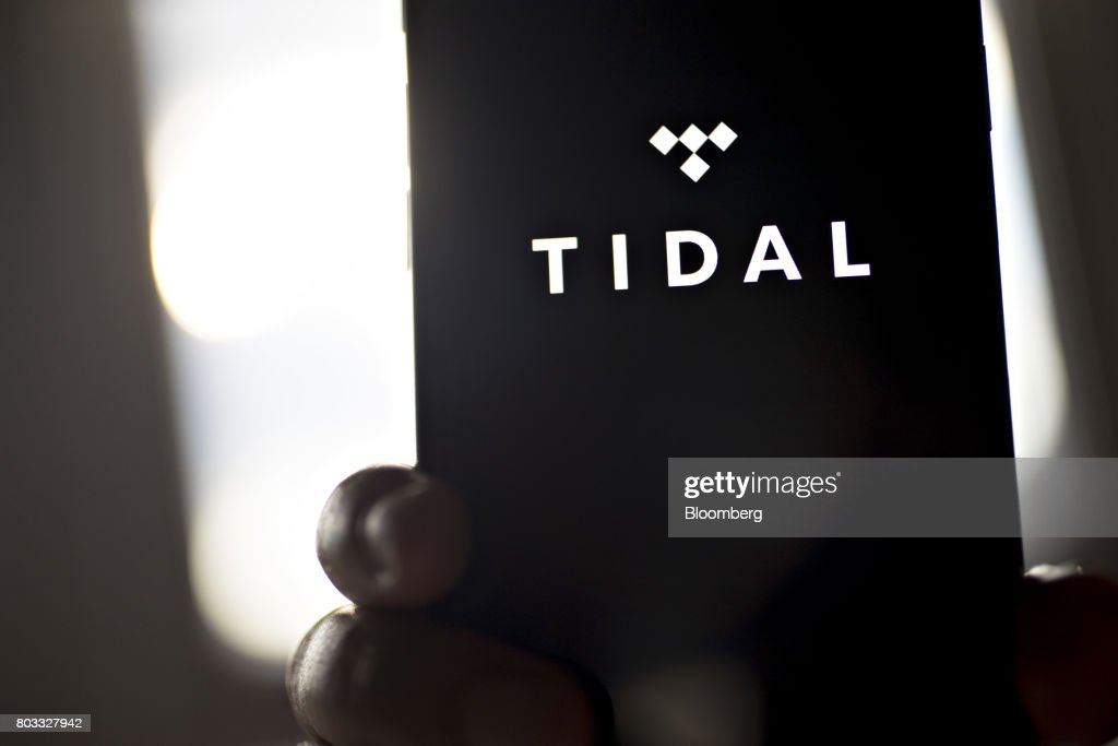 The Tidal Application Is Seen On An Apple Inc Iphone Arranged For A News Photo Getty Images