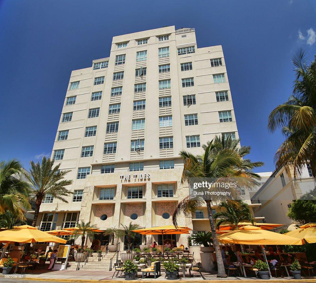 The Tides South Beach Hotel Miami Stock Photo