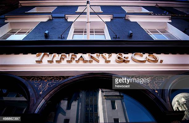 The Tiffany Co store on Old Bond Street London