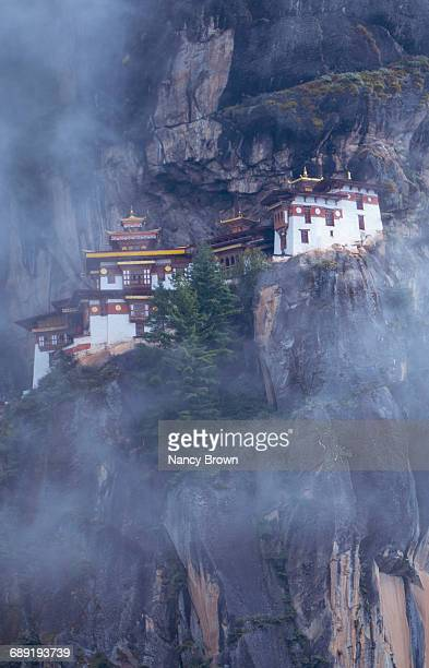 The Tigers Nest Monastery in Himalayans in Bhutan.