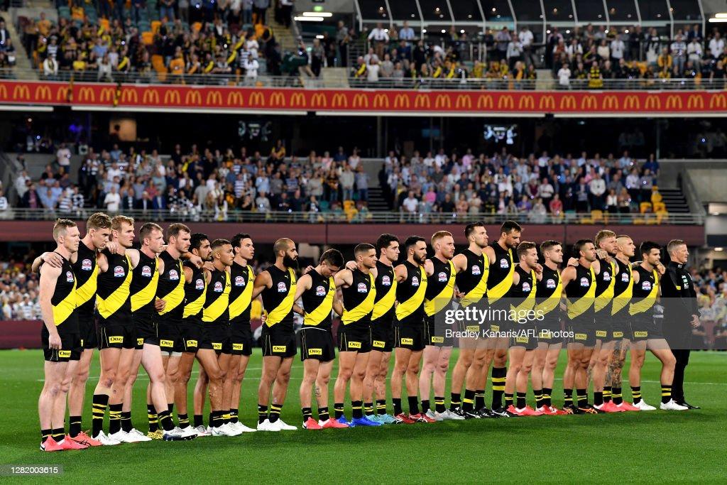 2020 AFL Grand Final - Richmond v Geelong : News Photo
