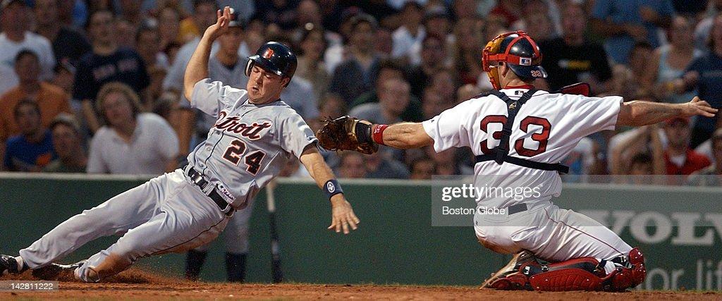 Boston Red Sox Vs Detroit Tigers At Fenway Park