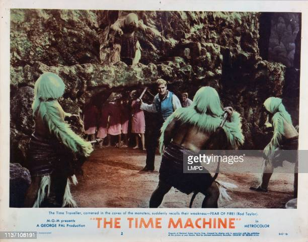 The Time Machine, lobbycard, Rod Taylor , 1960.