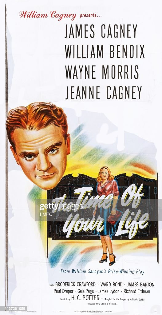 James Cagney, Jeanne Cagney on poster art, 1948. News Photo - Getty Images