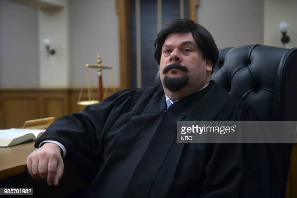 LADY KILLER 'The Timeline' Episode 202 Pictured Joel McCrary as Judge Kamiltow