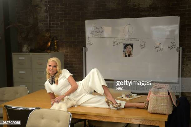 LADY KILLER 'The Timeline' Episode 202 Pictured Kristin Chenoweth as Lavinia PeckFoster