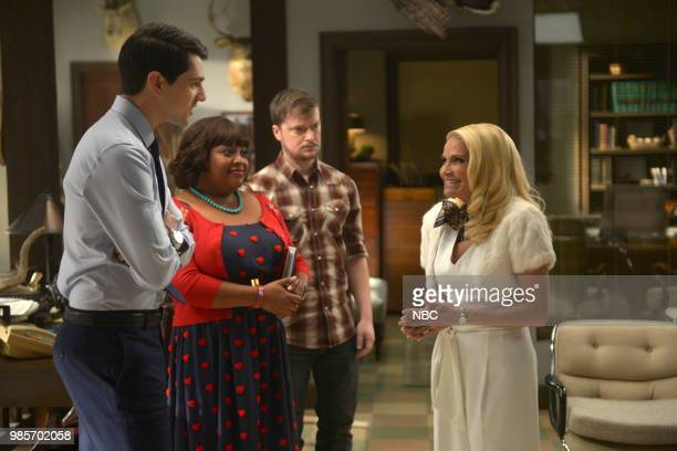 LADY KILLER 'The Timeline' Episode 202 Pictured Nicholas D'Agosto as Josh Segal Sherri Shepherd as Anne Flatch Steven Boyer as Dwayne Reed Kristin...
