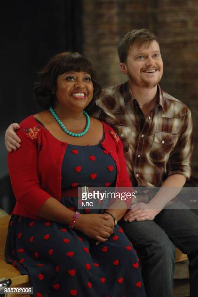 LADY KILLER 'The Timeline' Episode 202 Pictured Sherri Shepherd as Anne Flatch Steven Boyer as Dwayne Reed