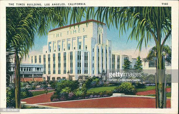 The Times Building, Los Angeles, California, 1939.
