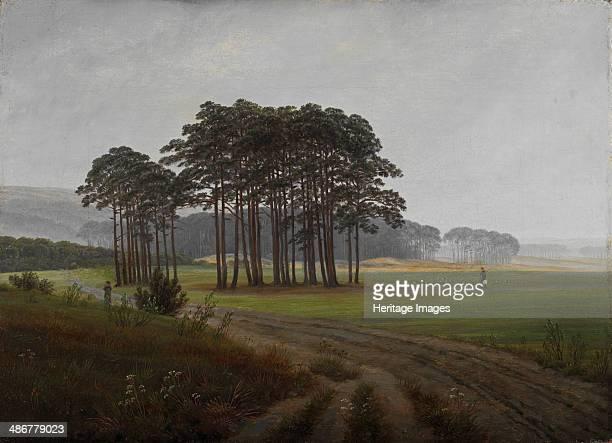 The midday, 1821-1822. Artist: Friedrich, Caspar David