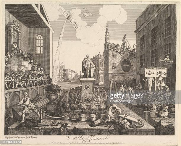 The Times Plate 2 May 29 1790 Artist William Hogarth