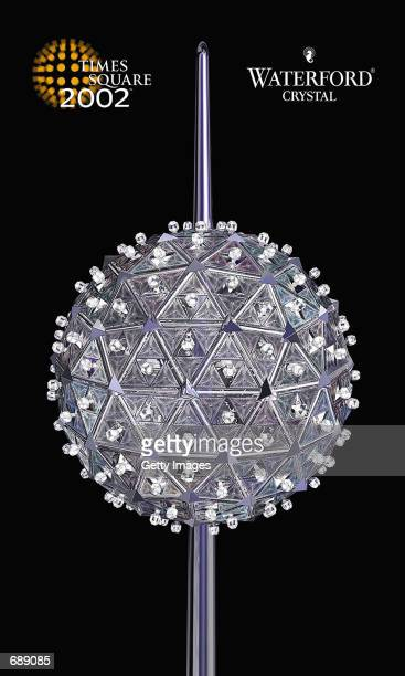 The Times Square New Years Eve Ball is shown in this simulated image December 27 2001 as designed by Waterford Crystal The sphere is six feet in...