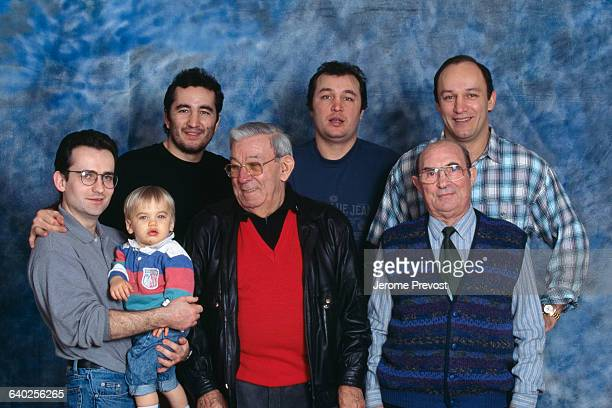 The Tiozzo family with its three famous French boxers Fabrice Christophe and Franck