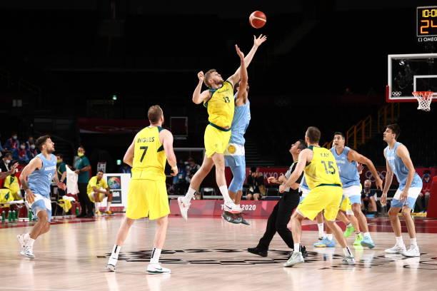 JPN: 2020 Tokyo Olympics: Argentina v Australia