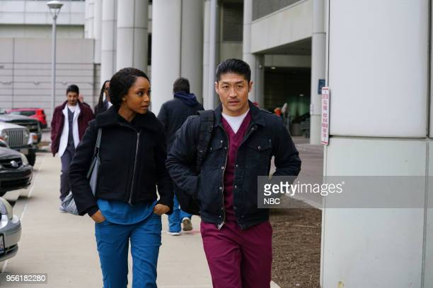 MED The Tipping Point Episode 320 Pictured Yaya DaCosta as April Sexton Brian Tee as Dr Ethan Choi