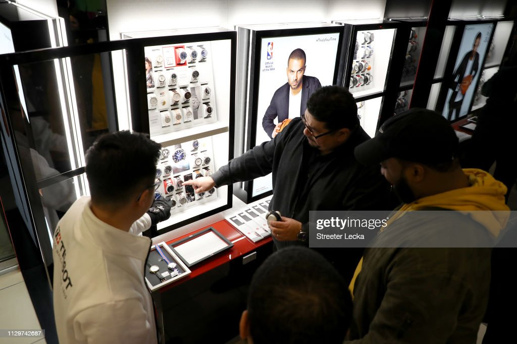 NC: Tissot Style Lounge At NBA All-Star Weekend 2019