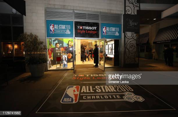 The Tissot Style Lounge during NBA AllStar Weekend 2019 at the EPICENTRE on February 14 2019 in Charlotte North Carolina
