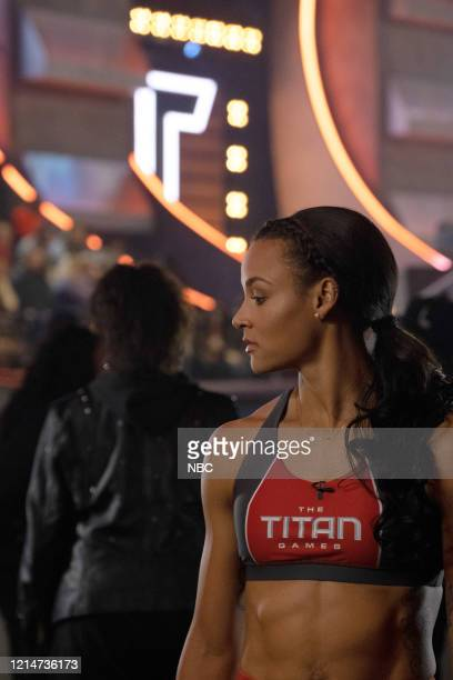 GAMES The Titan Games Premiere Episode 201/202 Pictured Chantae McMillan