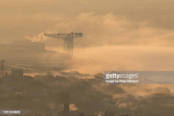 the titan of the clyde 30-11-19 - river clyde stock pictures, royalty-free photos & images