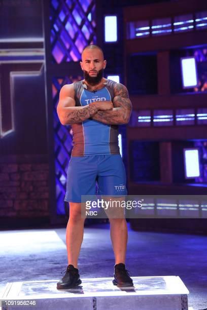 GAMES The Titans Games Trials 6 Episode 106 Pictured Angel Villegas