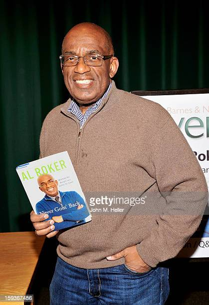 The Today Show Weatherman and TV Host Al Roker signs copies of his new book 'Never Goin' Back Winning The Weight Loss Battle For Good' at Barnes...