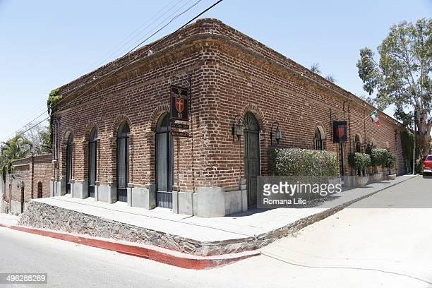 The Todos Santos Inn hotel and restaurant Todos Santos Pueblo Magico Baja California Sur Mexico