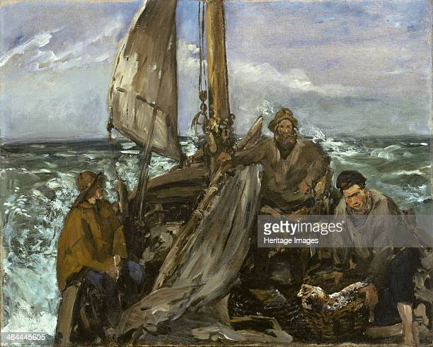 The Toilers of the Sea 1873 Found in the collection of the Museum of Fine Arts Houston