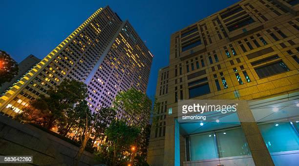 the tokyo metropolitan government building - 地方庁舎 ストックフォトと画像