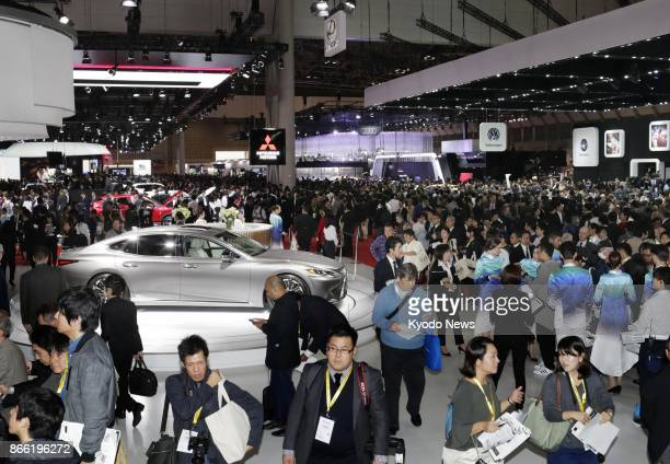 The Tokyo Motor Show opens to the press on Oct 25 with automakers promoting electric cars reflecting the significant shift in the industry amid...
