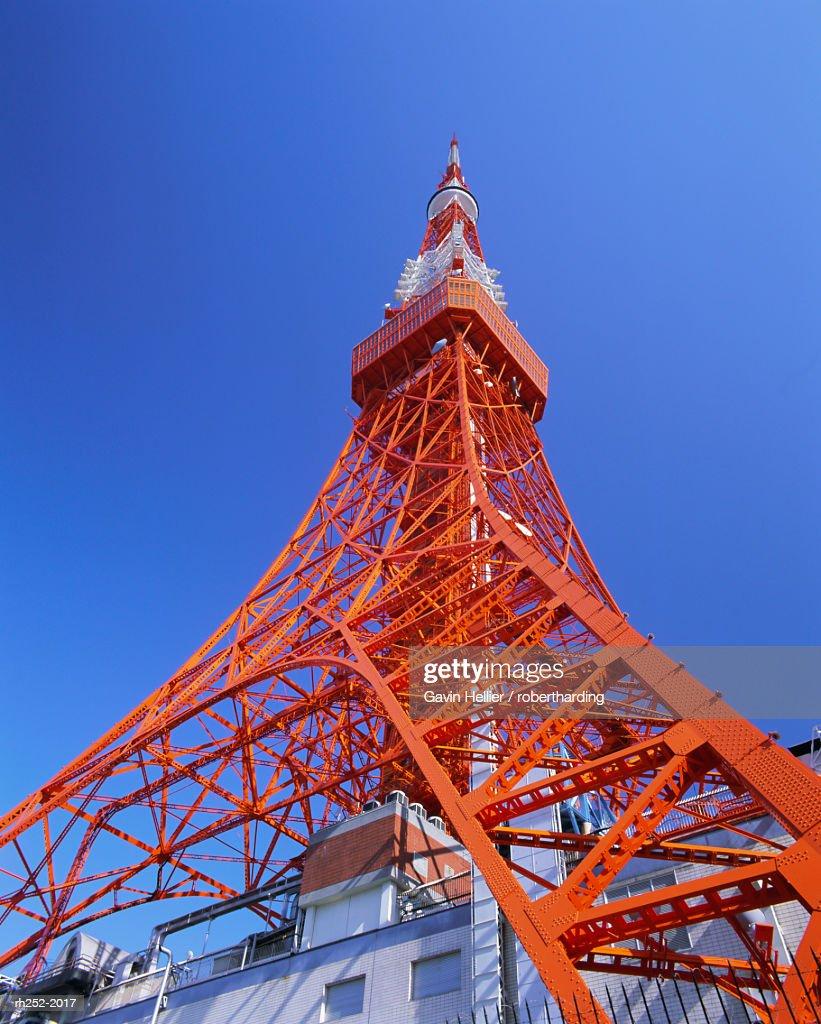 The Tokyo Tower, Tokyo, Honshu, Japan, Asia : Foto de stock