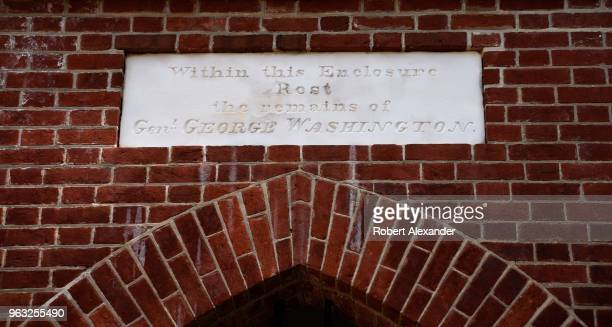 The tomb holding the remains of George and Martha Washington is among the attractions at Mount Vernon the plantation owned by Washington the first...