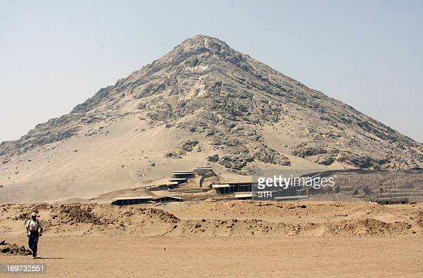 The tomb of a priestess of the Colombian Moche culture in the Sun and Moon complex a sanctuary developed between 200 and 700 AD sits beside a rocky...
