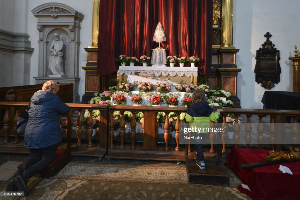 The most beautiful and the most interesting tombs of the Lord in Krakow : News Photo