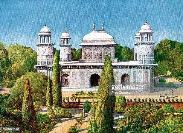 The Tomb of ItmadudDowlah Agra India early 20th century From Views of India in Colour published by The Times of India Offices
