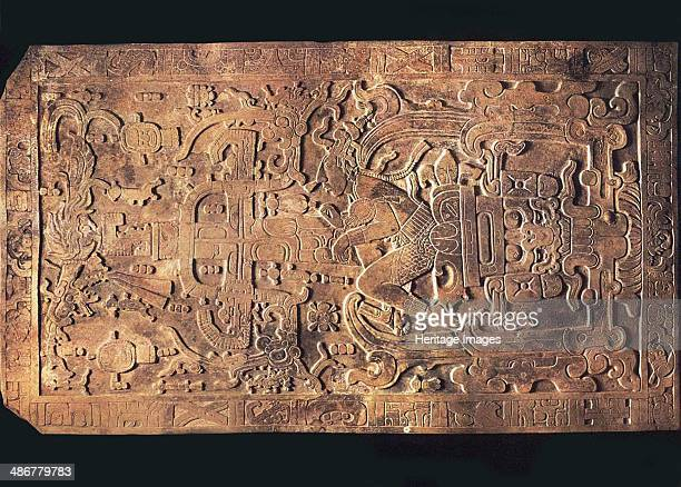 The tomb of King Pakal from the Temple of the Inscriptions Palenque 615683 Artist PreColumbian art