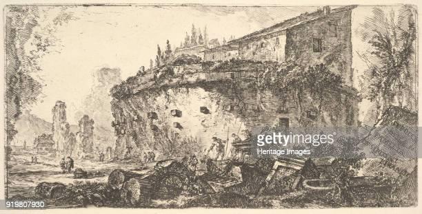 The Tomb of the Scipio Family ca 1748 Private Collection