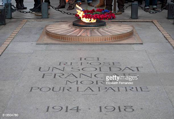 The Tomb of the Unknown Soldier, Paris