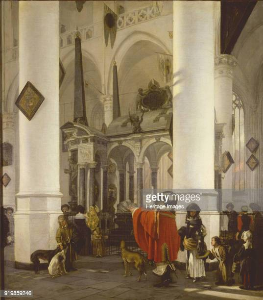 The Tomb of William the Silent in the Nieuwe Kerk in Delft 1656 Found in the collection of Musée des BeauxArts LilleFine Art Images/Heritage...