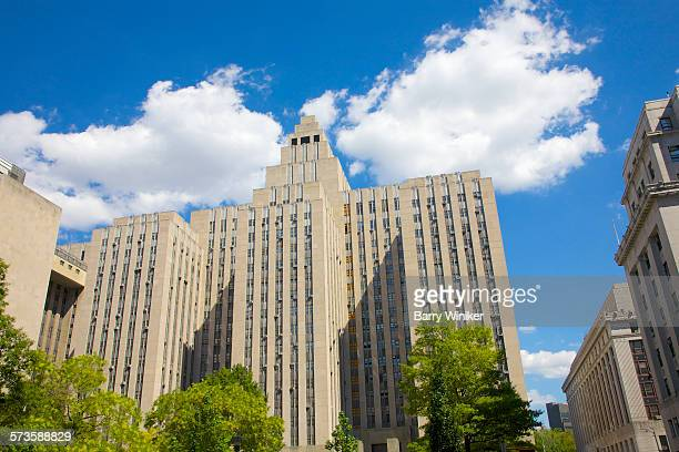 the tombs, downtown manhattan - prison building stock pictures, royalty-free photos & images